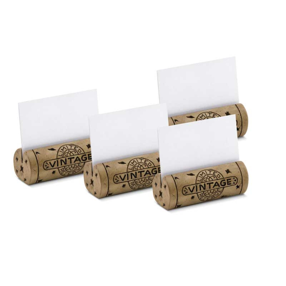Cork Place Card Holders - set of 4