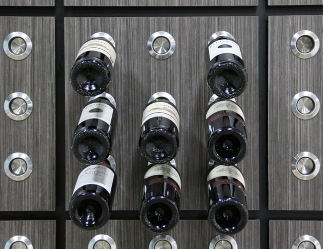 Custom Wine Cellar - Knot Racking
