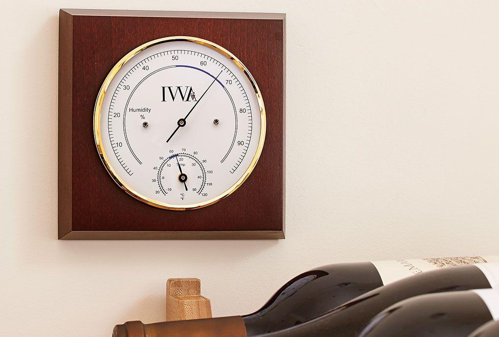 Wine Cellar Thermometer Amp Hygrometer Iwa Wine Accessories