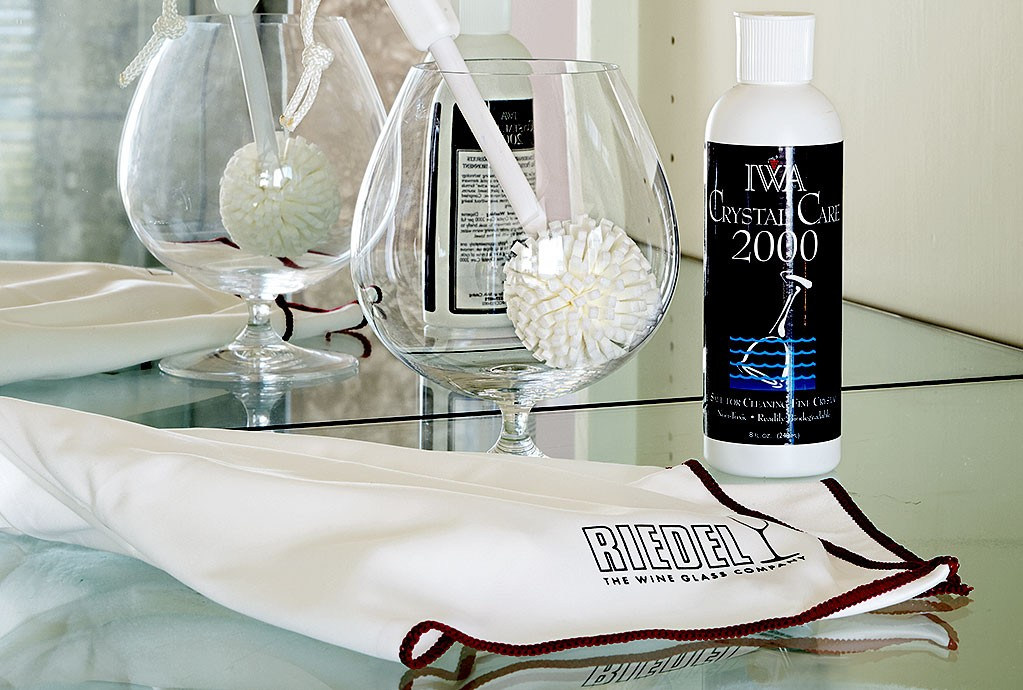 Wine Glassware Cleaning Supplies