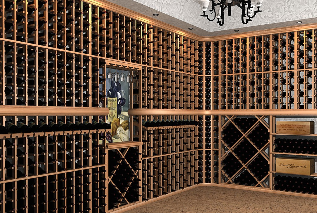 Winemaker Wood Wine Racks