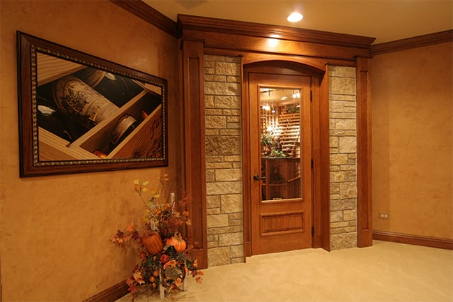 Custom Wine Cellar - Doors