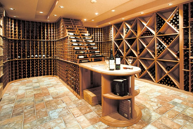 Custom Wine Cellar - Fully Custom