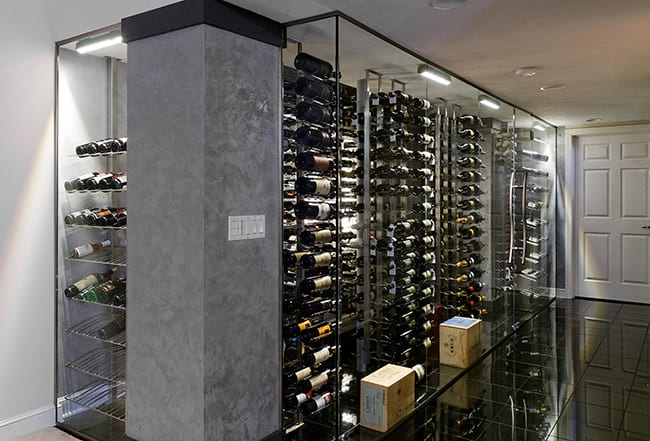 Custom Wine Cellar - VintageView Series