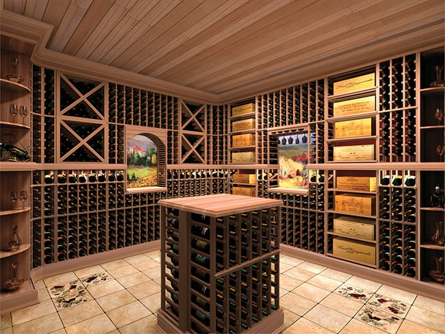Custom Wine Cellar - Vintner Series
