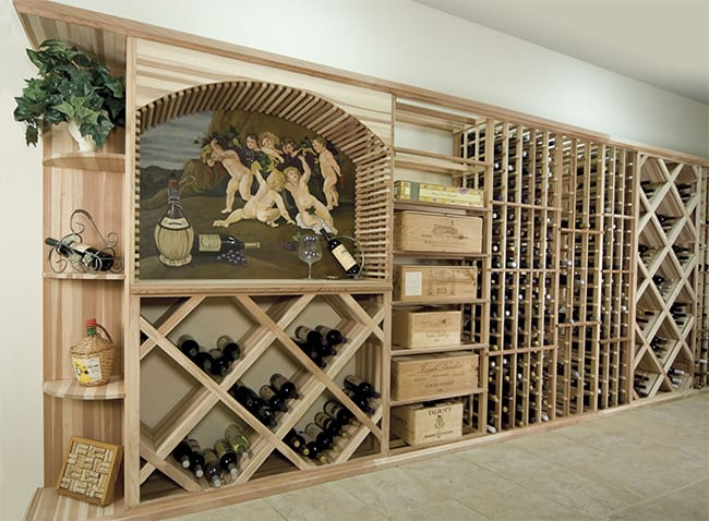 Custom Wine Cellar - Designer Series