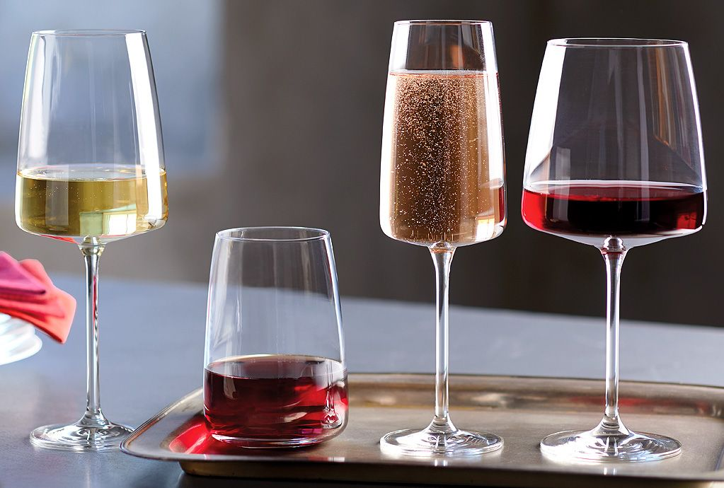 Wine glass set by Schott Zwiesel
