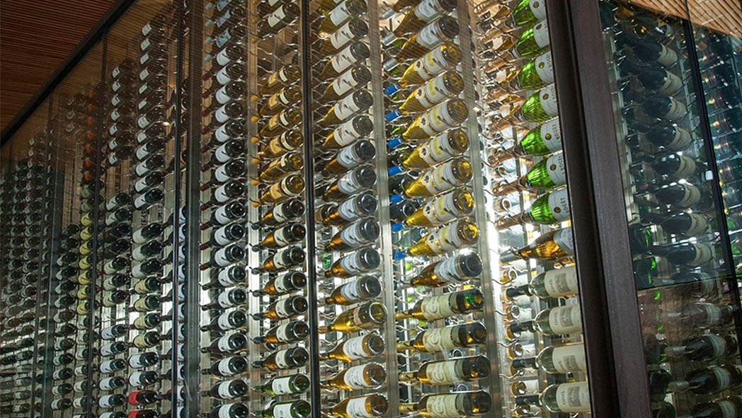 Metal Wine Racks Modern Custom Designed Cellars Iwa