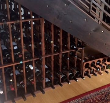 Custom Wine Cellar - Traditional Series