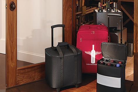 Wine Luggage & Totes