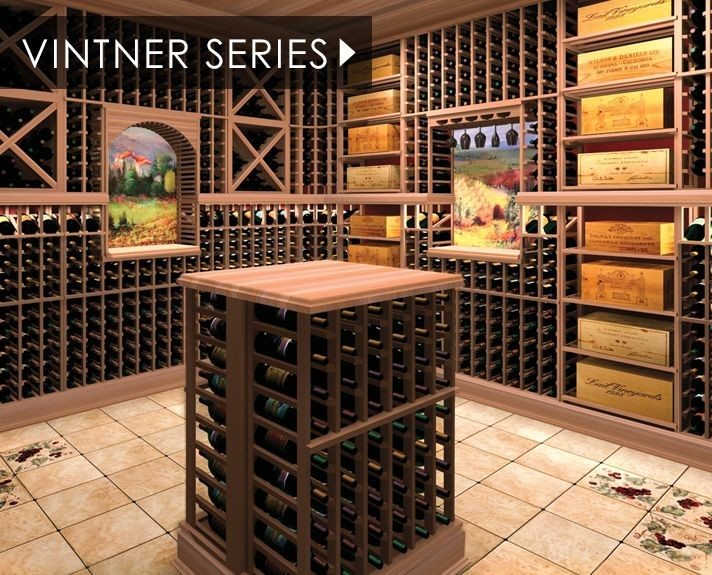 Popular Custom Cellar Features & Wine Cellar Racks u0026 Refrigeration | IWA Accessories