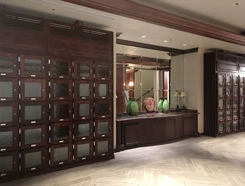 Country Club Member Wine Lockers - Naples, FL