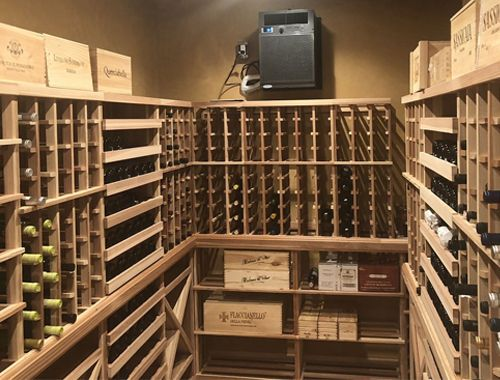Efficient Wine Storage - Tiburon, CA