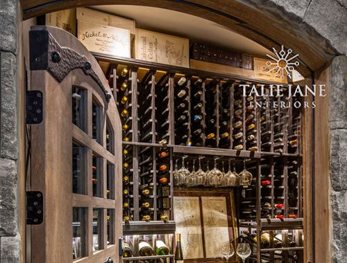 Meticulously Crafted Wine Cellar in Nevada