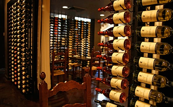 750-1,000 Bottle Capacity Custom Wine Cellars | Cellar