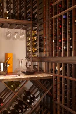 Winter Project - Wine Cellar Designs California