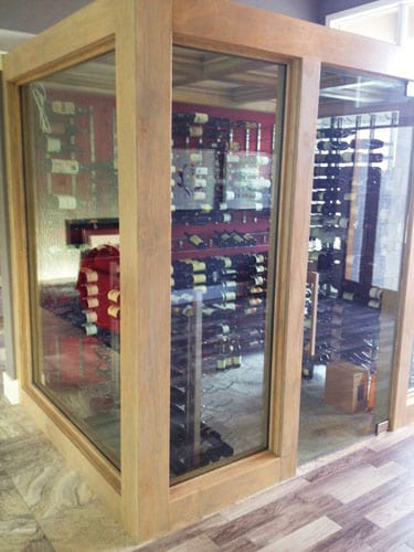 Dayton Ohio Custom Wine Cellars Contemporary Project – Designed & Planned by Jimmy Simmons