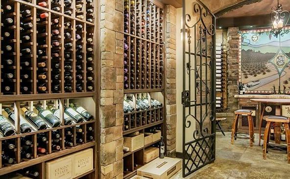Miami  Ft. Lauderdale FL Custom Wine Cellars  Florida Cellar Design Examples