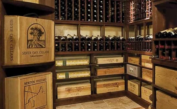 Wholesale & Distribution Custom Wine Cellar