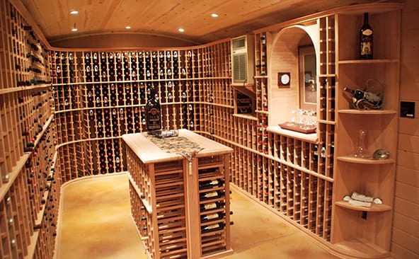Wine Retail Custom Wine Cellar