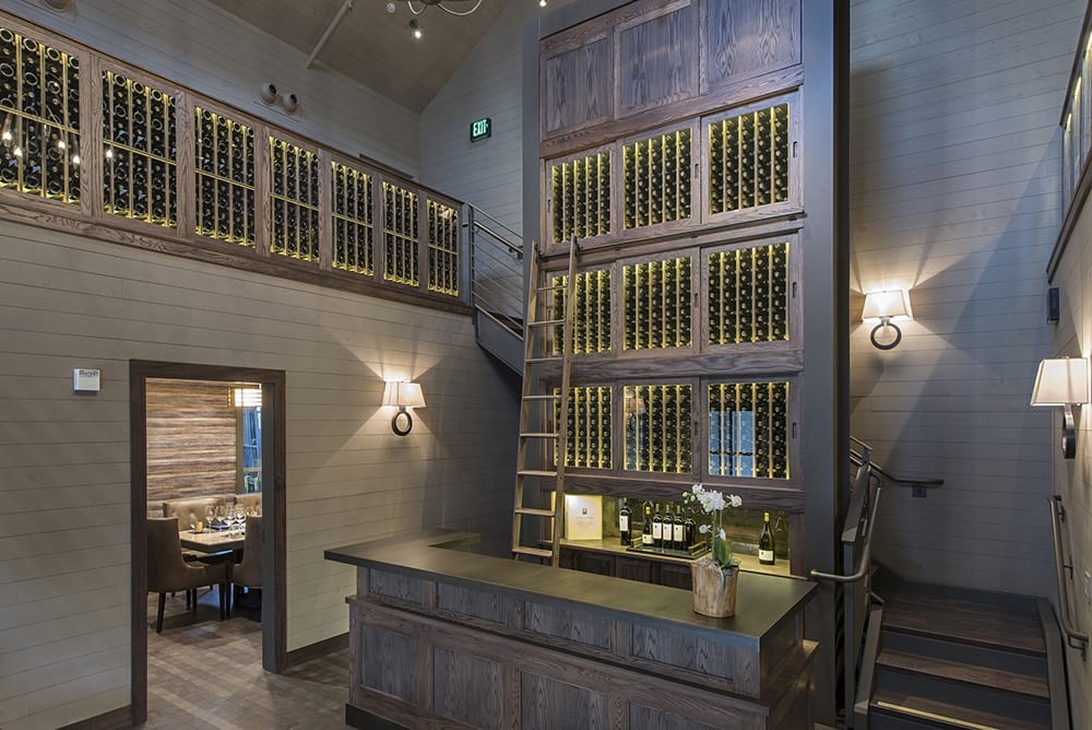 Alpha Omega Winery Custom Wine Cellar in Napa Valley