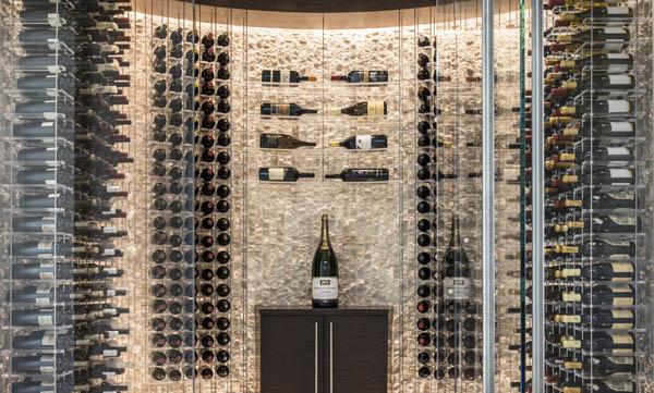 Metal Wine Racks Modern Custom, Wine Storage Systems