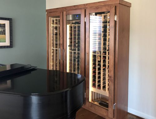 Tight Space Custom Cabinet - Tiburon, CA