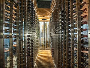 Custom wine cellar commercial projects