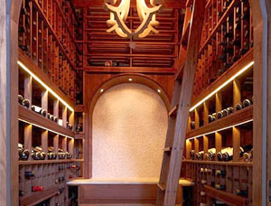 Dedicated Wine Room for a High-End Customized Home
