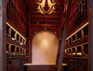Custom wine cellar residential projects