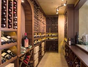 Traditional Custom Wine Cellar in Newport Coast, CA