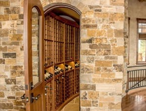 Beautiful Wood Custom Wine Cellar in Pagosa Springs, CO