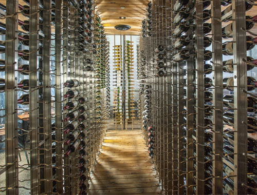 Custom wine cellar projects