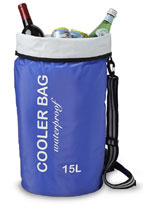 Blue Cooler Bag