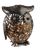 Owl Cork Cage