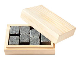 Whisky Box With Stones