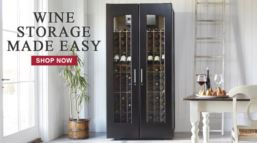 Wine Storage Made Easy - SHOP NOW
