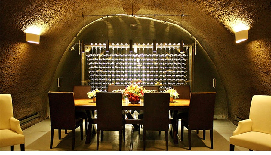 Example Custom Wine Cellar Cave