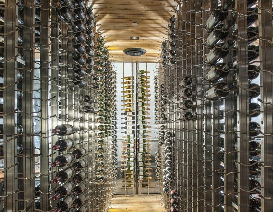 Glass Enclosed Wine Cellars Glass Doors Amp Walls Iwa