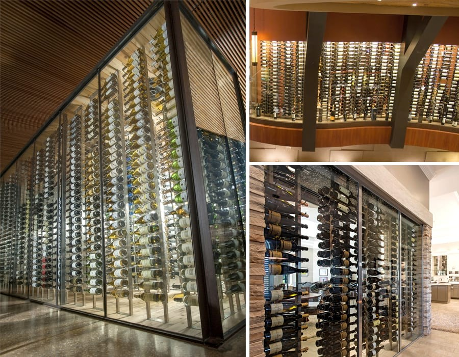 How to Build a Glass Wine Cellar - Tips from IWA Design Center