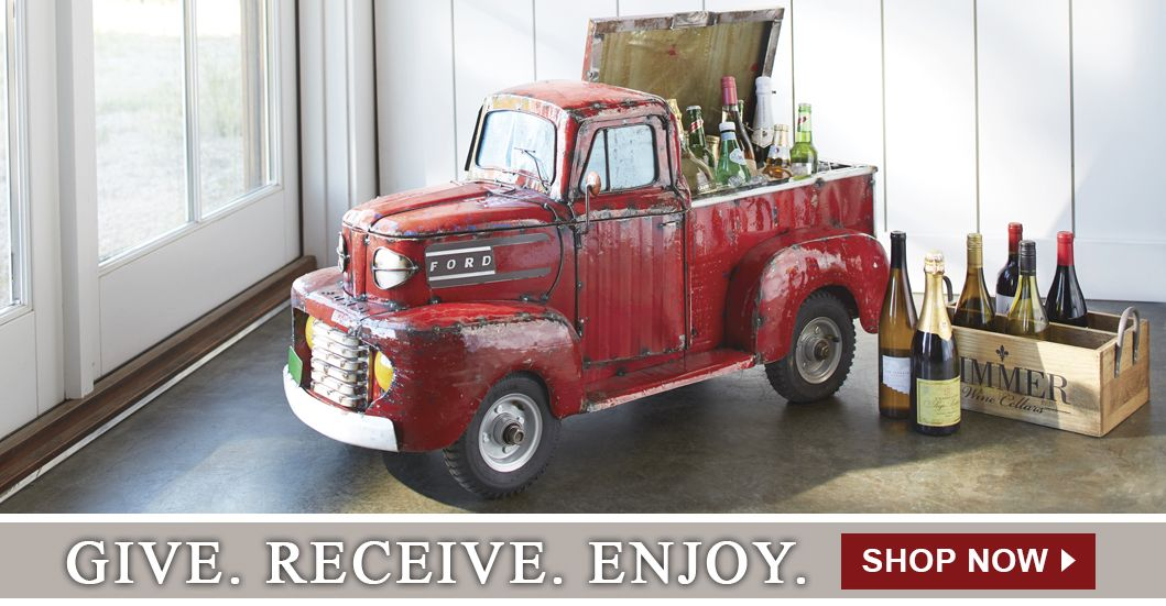Red Truck Wine Cooler