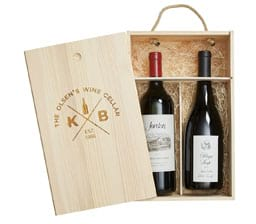 Personalized Wine Gift Box