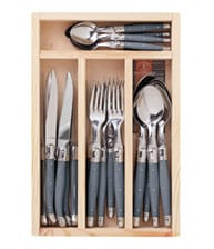 Gray Laguiole Flatware