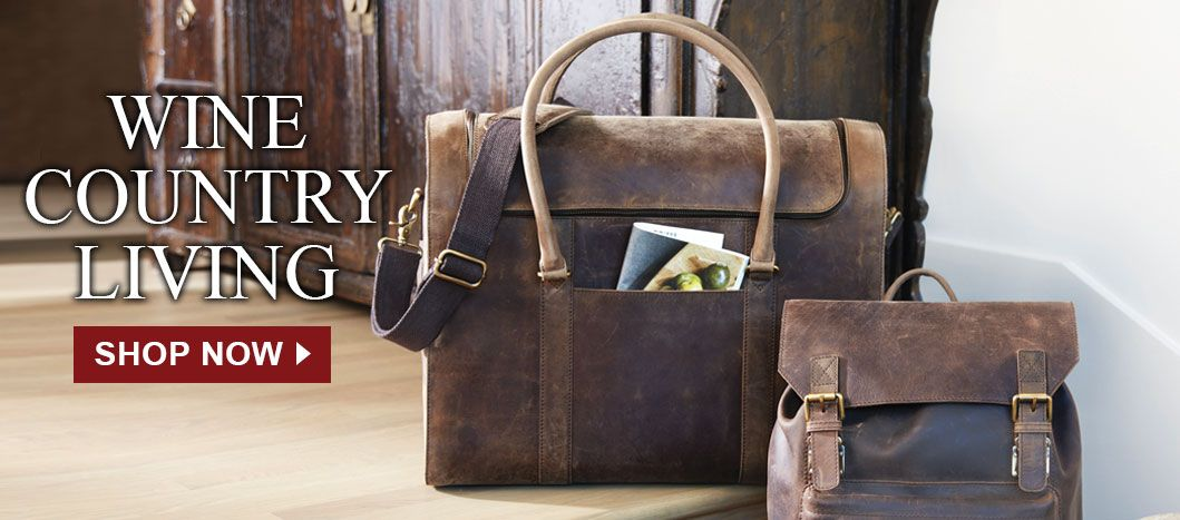 Shop Leather Wine Luggage