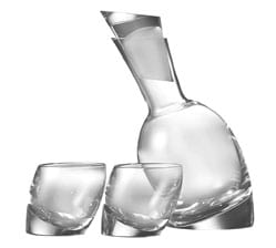 Nambe Tilt Decanter Set