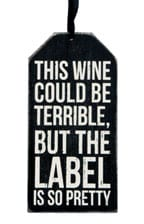 Gift Wine Bottle Tag