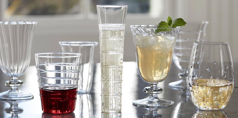 Mardi Gras Glassware