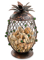 Pineapple Cork Cage