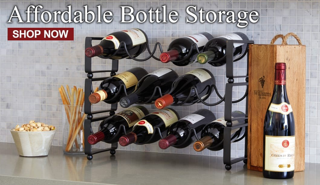 Affordable Bottle Storage