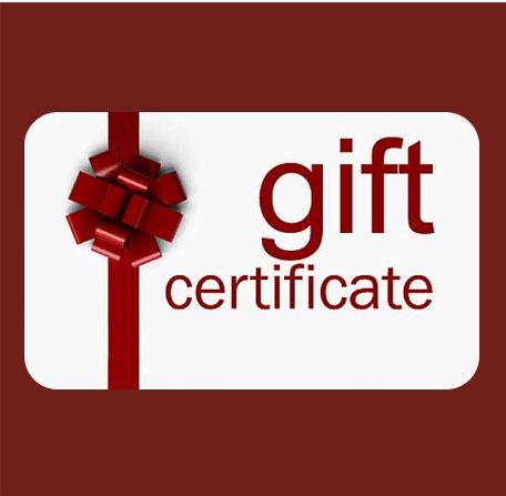 eGift Certificates